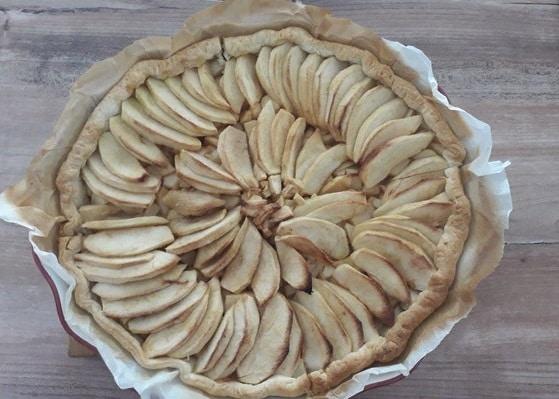 Tarte Aux Pommes De Ma Grand-Mère
