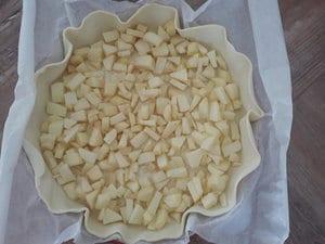 tarte aux pommes grand mère